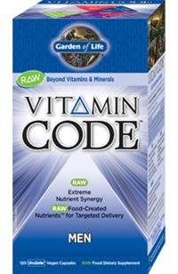 Vitamin Code Mens Multi From Garden Of Life 120 Caps